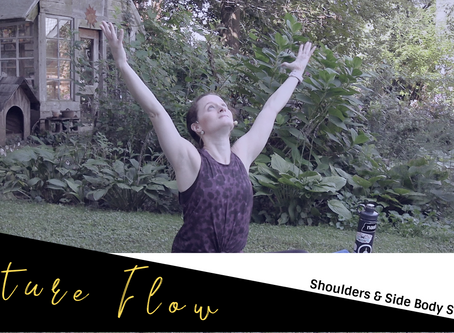 Nature Flow With GSO Downtown Yoga: Shoulders & Side Body Stretches Part 1