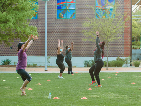 Pump up the Beat in an Afro-rhythms dance class with dance project!