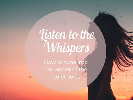 Learn To Listen To The Whispers With Help From Cheri Timmons