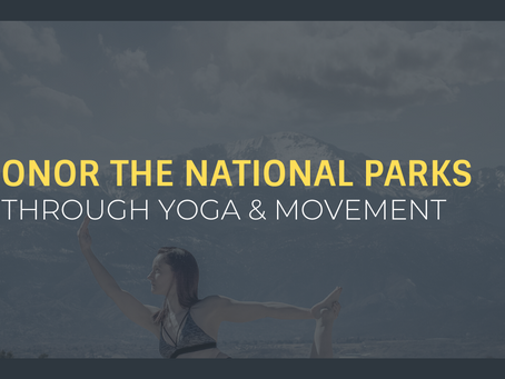 Celebrating the Earth and Parks With GSO Downtown Yoga