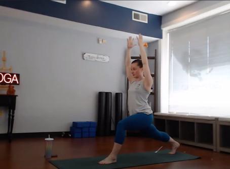 Check Out GSO Downtown Yoga's New Virtual Studio!
