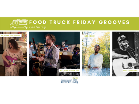 Food Truck Friday Grooves: August Lineup