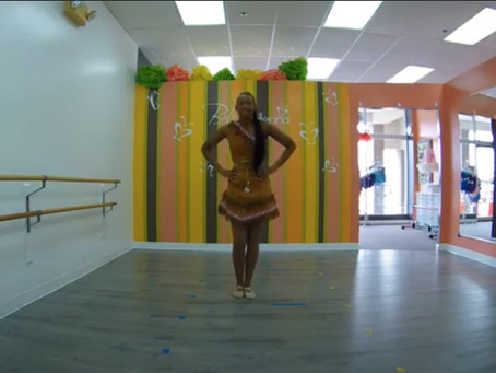 Storybook Dance With Pocahontas and Bella Ballerina
