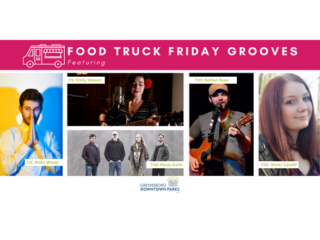 Food Truck Friday Grooves: July Lineup