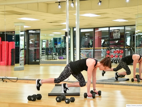 Mixed Level Upper Body Blast With Club Fitness GSO