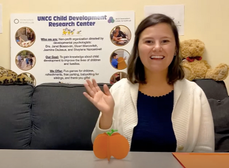 Crafts And Conversation: 3-D Paper Pumpkins With The DUCK Lab