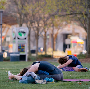 Pilates in the Park with Axis Pilates
