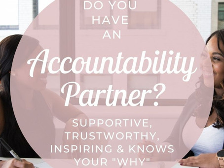 Do You Have An Accountability Partner?