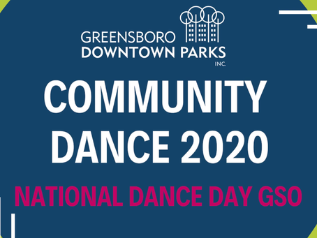 Join a Flashmob at National Dance Day GSO
