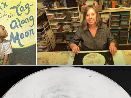 Tag along with the Moon and Greenhill