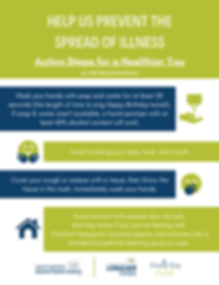 Help Us Prevent the Spread of Illness (2