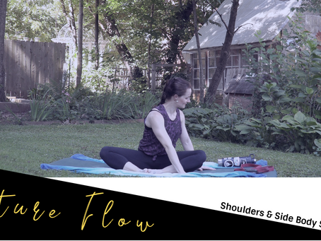 Nature Flow With GSO Downtown Yoga: Shoulders & Side Body Stretches Part 3