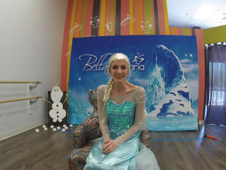 Bella Ballerina's Frozen Adventure