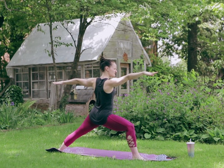 Breathing and Discovering One's Self With GSO Downtown Yoga