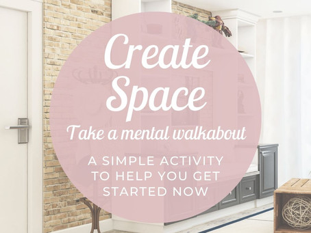 Create Space: Improve Your Physical And Mental Health By Clearing Out