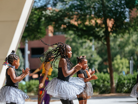 Royal Expressions School of Dance, Afro-Jazz at The LeBauer Price/Bryan Pavilion