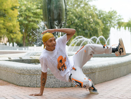 Brandon Williams, Hip Hop at Center City Park Fountain