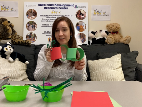 Crafts And Conversation: Paper Chain Caterpillar With The DUCK Lab
