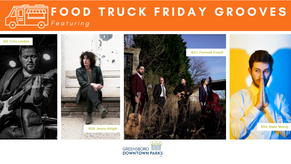 Food Truck Friday Grooves: September Lineup