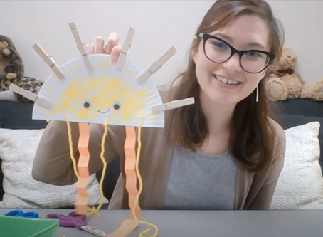 Crafts And Conversation: Paper Plate Sunshine With DUCK Lab