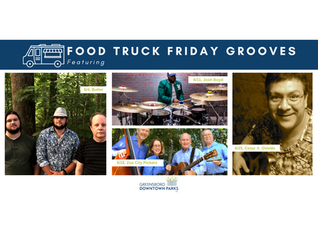 June Lineup: Food Truck Friday Grooves