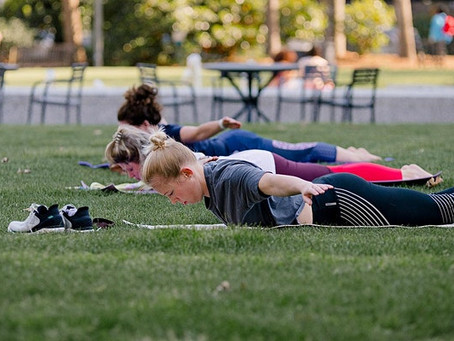 Perfect Your Posture with Pilates in the Park