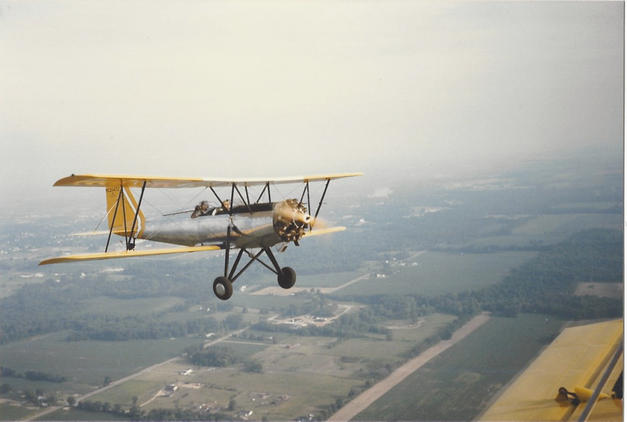 Meyers OTW in flight
