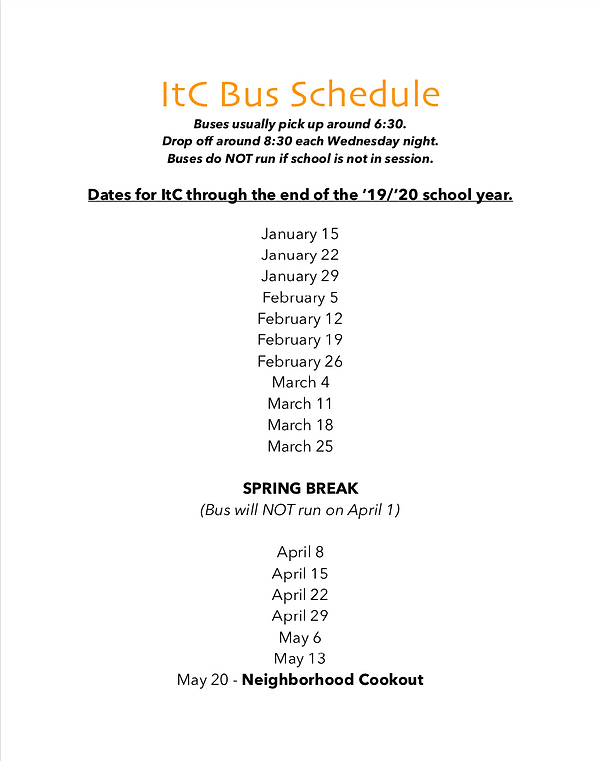ItC Bus Schedule Image - Spring '20.png