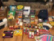 Organized items on floor.jpeg