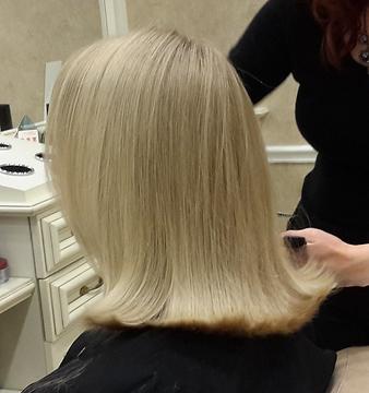 hair color sense Hair cut blond hair.png