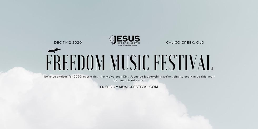 Freedom Music Festival 2020