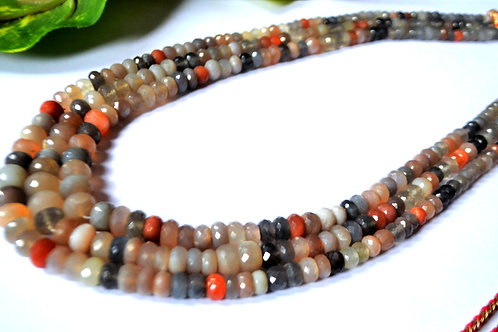 Natural Gemstone Multi Color Beads