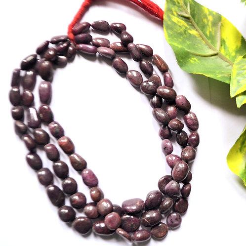 Natural Ruby Gemstone Beads