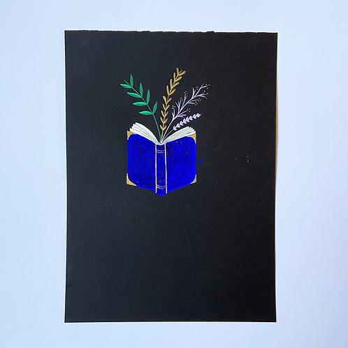 Magic Library Book