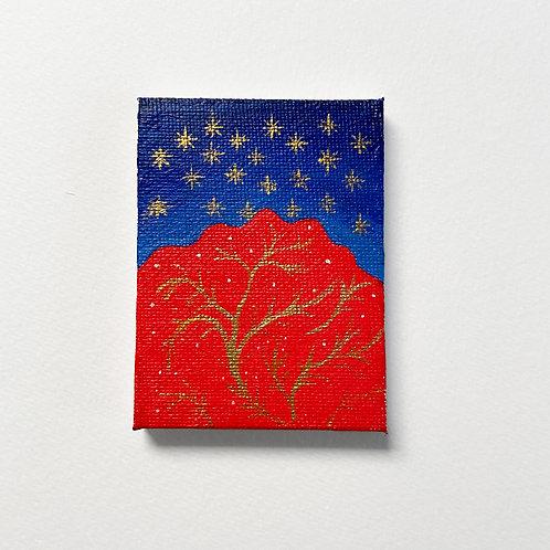 Medieval stars painting