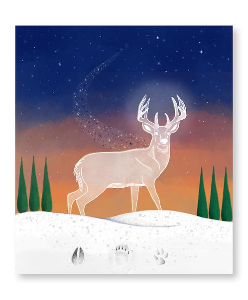 The White Buck of the Goddess