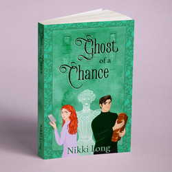 Book cover design and illustration for Nikki Long