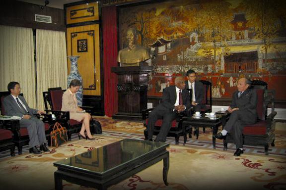 Delegation Visiting Vietnam