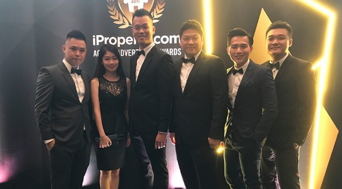 Event night for iproperty award