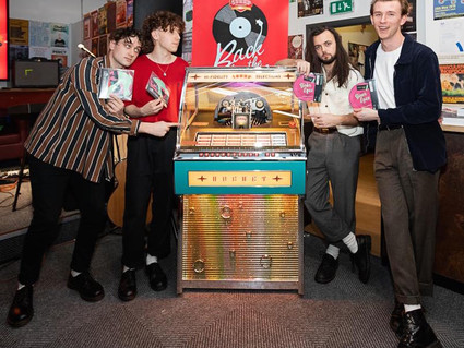 'YOUR EYES' HITS UK POP CHARTS