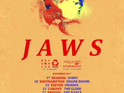 NOVEMBER TOUR DATES WITH JAWS
