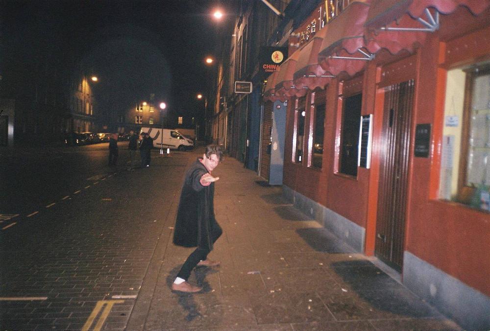 James in Edinburgh (photo: Oli Jameson)