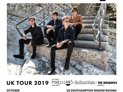 SUPPORTING THE SHERLOCKS ON TOUR