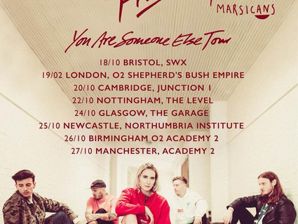 MAIN SUPPORT - FICKLE FRIENDS UK TOUR