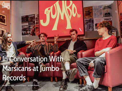 VIDEO INTERVIEW AT JUMBO RECORDS