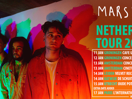 NETHERLANDS TOUR + PARIS DATES