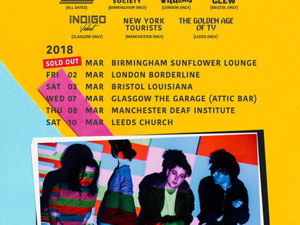 MARCH UK TOUR - 1ST SHOW SELLS OUT.