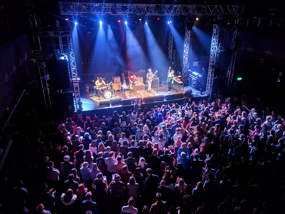 Opening for the Pigeon Detectives, Leeds