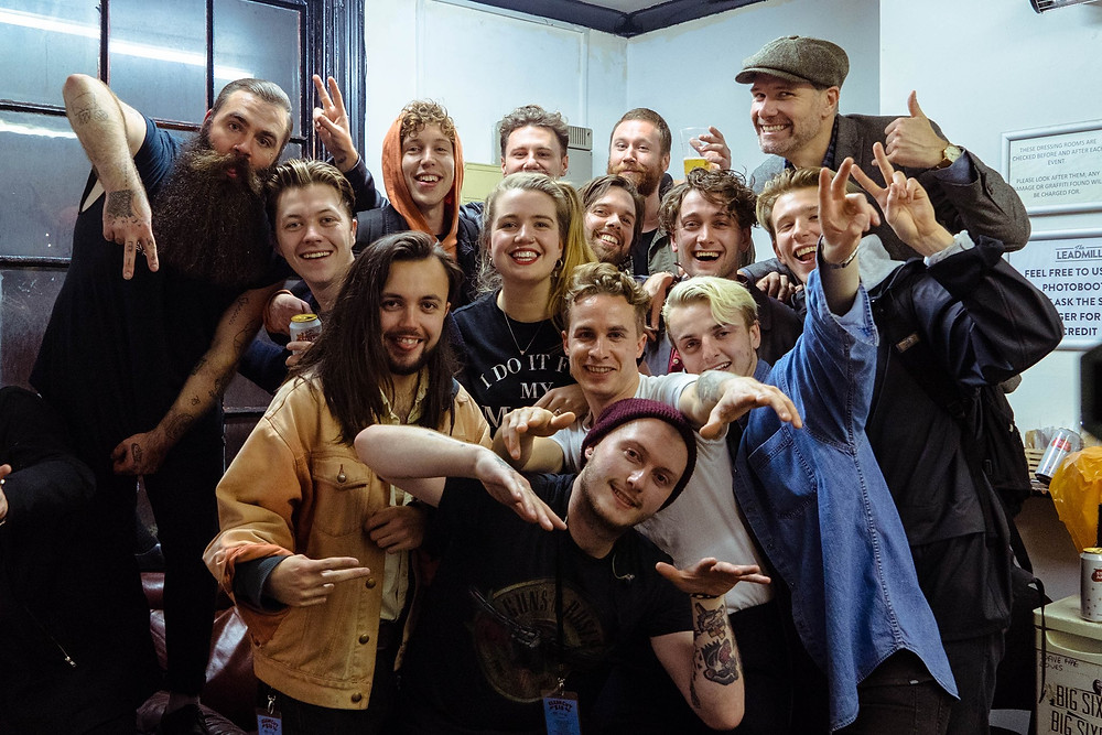 Clean Cut Kid tour: bands and crew
