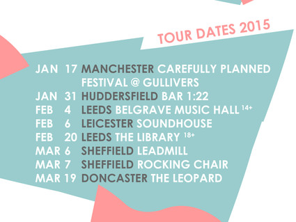 FIRST 2015 TOUR DATES ANNOUNCED